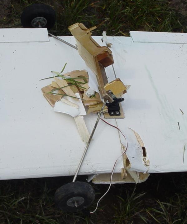 Crash 2 de vleugel